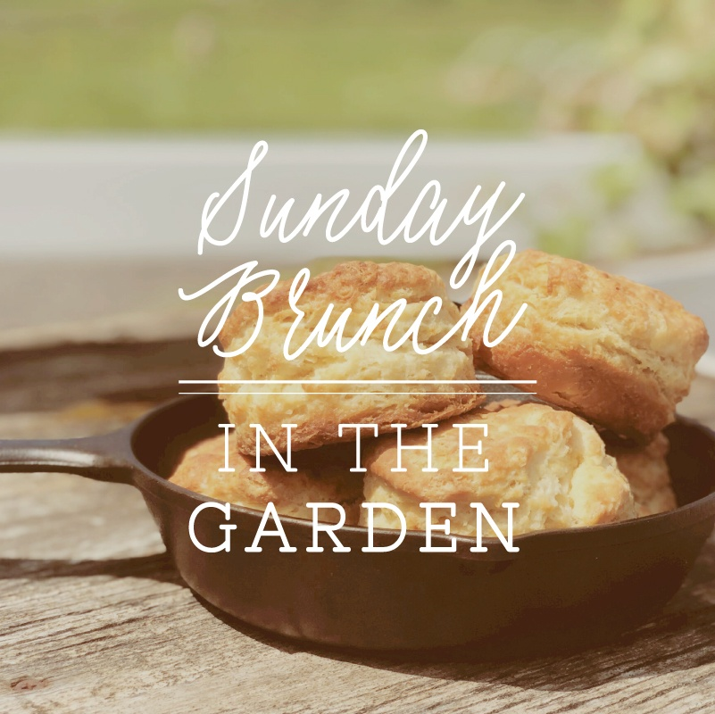 Sunday Brunch in the Garden at Middleground Farms